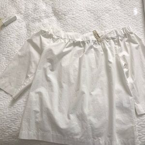 Off shoulder Madewell Top NWT